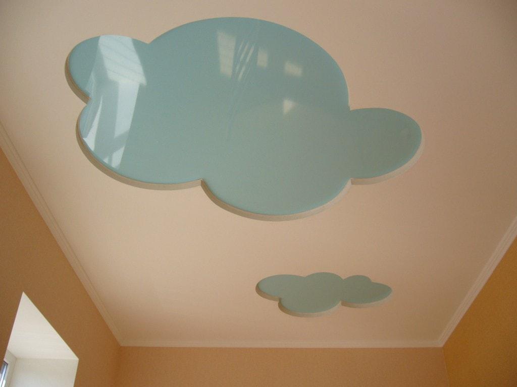 Натяжной потолок в детской стоимость от производителя Ремонтофф. Натяжные потолки в Анапе под ключ.