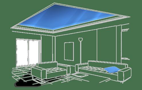 Натяжные потолки Анапа преимущества