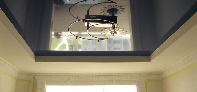 Натяжные потолки в коттедже фото, компания Ремонтофф. Натяжные потолки в Анапе под ключ.