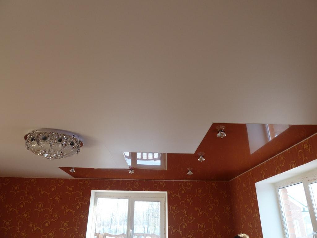 Матовые натяжные потолки фото Ремонтофф. Натяжные потолки в Анапе под ключ.