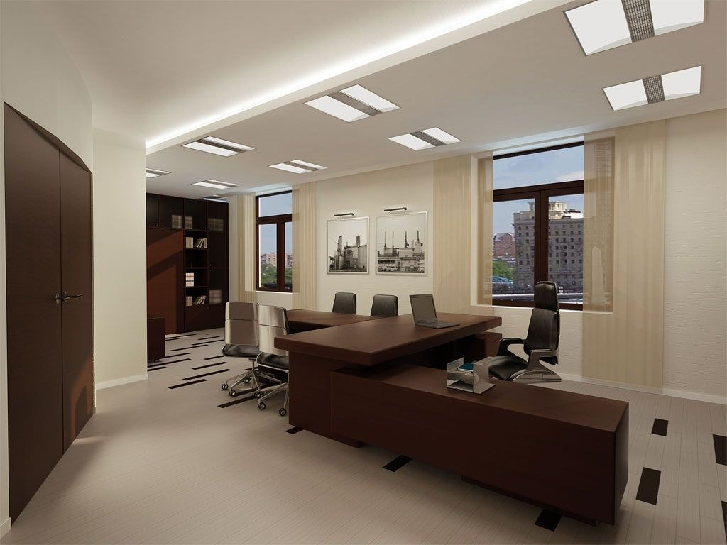 Натяжные потолки в офисе стоимость от производителя Ремонтофф. Натяжные потолки в Анапе под ключ.