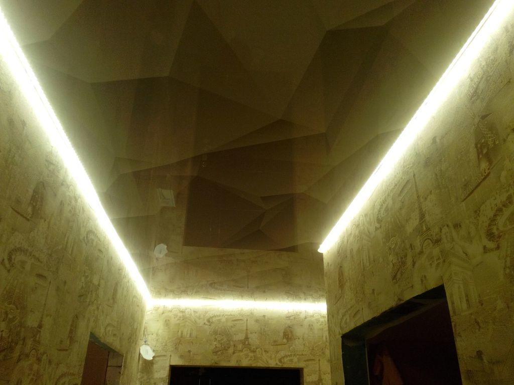 Натяжные потолки в прихожей стоимость от производителя Ремонтофф. Натяжные потолки в Анапе под ключ.