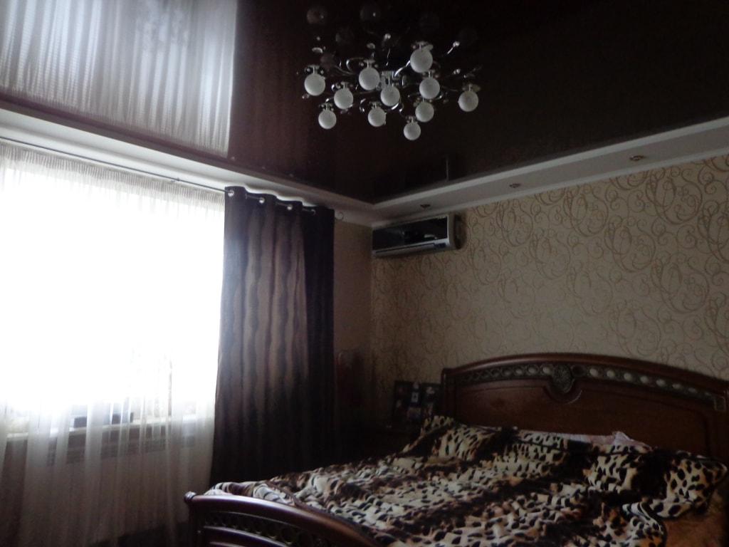 Натяжные потолки для спальни фото, компания Ремонтофф. Натяжные потолки в Анапе под ключ.