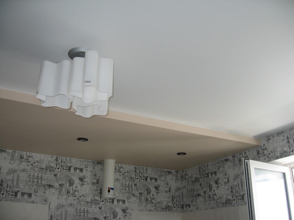 Тканевые потолки от производителя Ремонтофф. Натяжные потолки в Анапе под ключ.